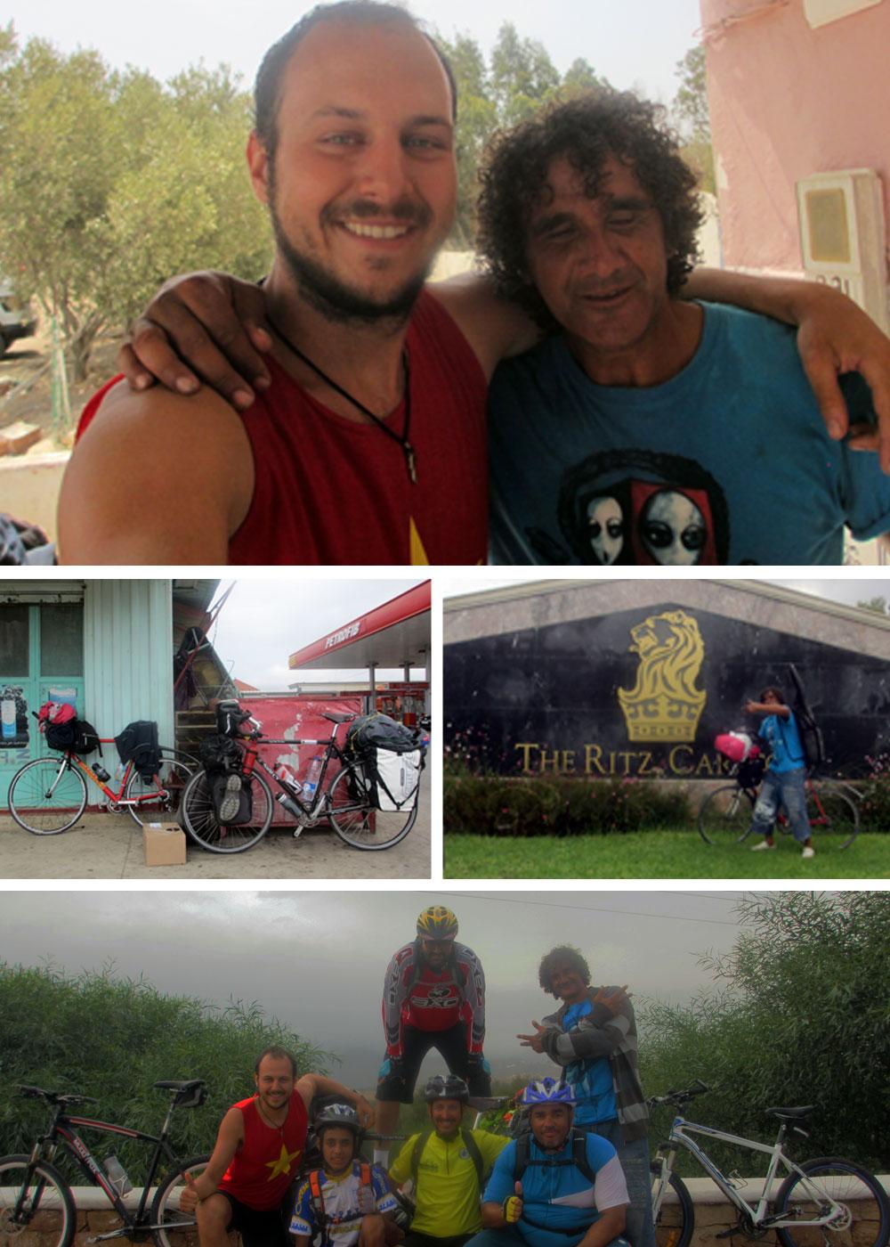 Bikers from Fnideq