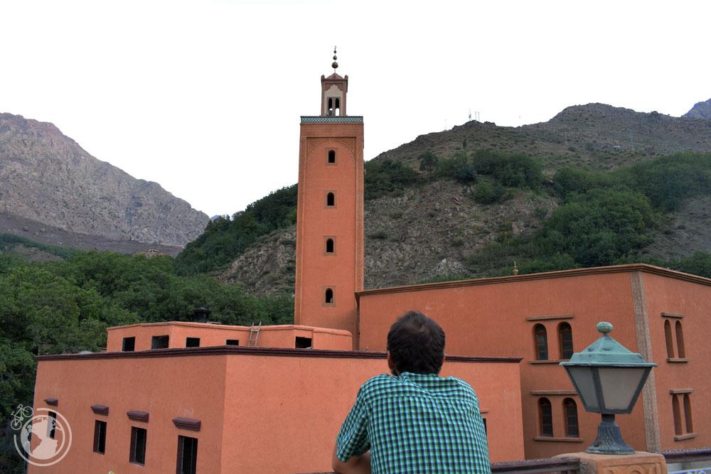 Vistas a la mezquita