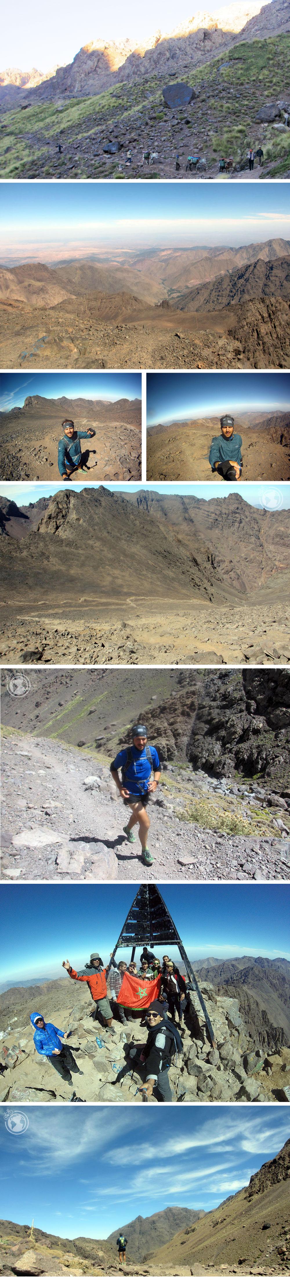 Subida al Monte Toubkal