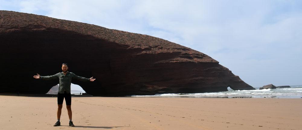 Playa de Legzira, Marruecos.
