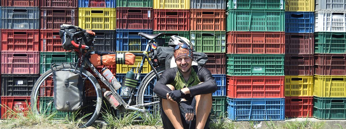 Cajas de colores en Colombia.